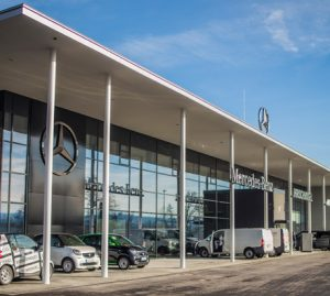 Neubau des Autohauses Hirchvogel in Passau