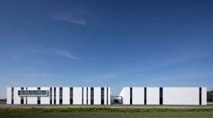 Huber & Ranner Neubau Produktions- und Lagerhallen in Pocking