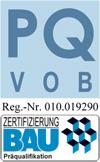 PQ VOB Zertifizierung BAU Hoffmann