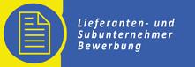 Bewerbung Lieferanten und Subunternehmer Hoffmann GmbH Thyrnau Passau