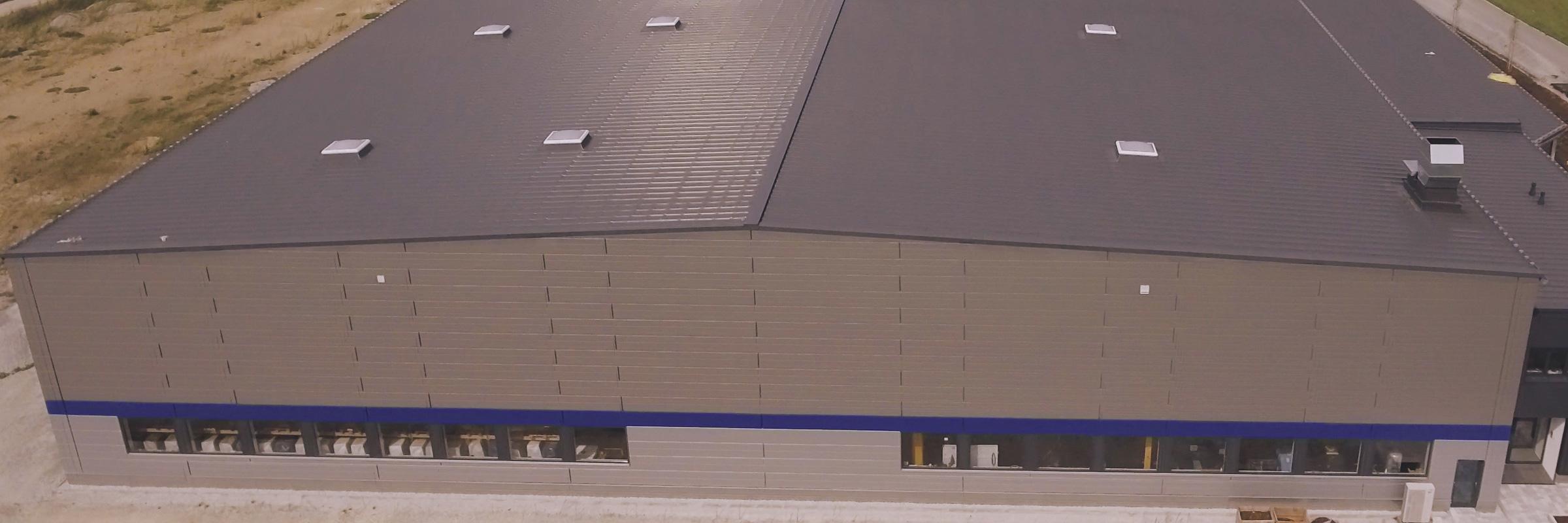 Fassade Hoffman Firmengruppe - Partner für Dach, Fassade, Haustechnik, Sanierung